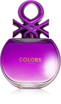 Benetton Colors de Benetton Woman Purple Eau de Toilette for Women