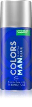 Benetton Colors de Benetton Man Blue Deodorant Spray für Herren