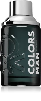 Benetton Colors de Benetton Man Black Eau de Toilette για άντρες