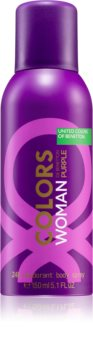 Benetton Colors de Benetton Woman Purple Deodorant Spray für Damen