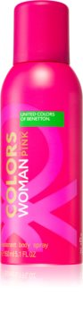 Benetton Colors de Benetton Woman Pink Deodorant Spray for Women