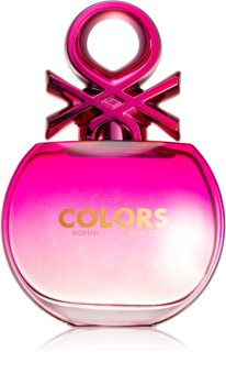 Benetton Colors de Benetton Woman Pink Eau de Toilette para mulheres