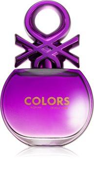 Benetton Colors de Benetton Woman Purple Eau de Toilette für Damen