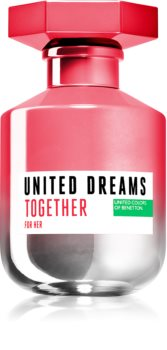 Benetton United Dreams for her Together Eau de Toilette da donna