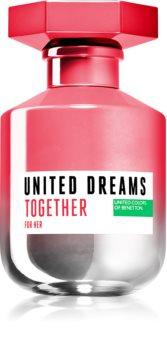Benetton United Dreams for her Together Eau de Toilette Naisille
