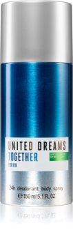 Benetton United Dreams for him Together deodorant spray pentru bărbați