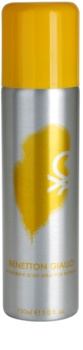Benetton Giallo deodorant Spray para mulheres 150 ml