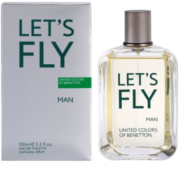 Benetton Let's Fly eau de toilette para hombre 100 ml