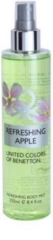 Benetton Refreshing Apple spray de corpo para mulheres 250 ml
