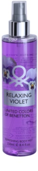 Benetton Relaxing Violet Body Spray for Women