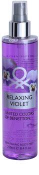 Benetton Relaxing Violet spray corporel pour femme