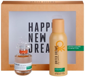 Benetton United Dream Stay Positive lote de regalo I.