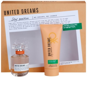 Benetton United Dreams for him Stay Positive Geschenkset II. für Damen