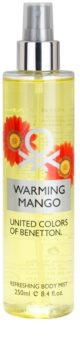 Benetton Warming Mango spray corporal para mujer 250 ml