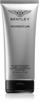 Bentley Momentum gel de banho para corpo e cabelo com perfume