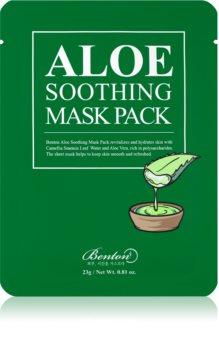 Benton Aloe pomirjajoča maska za obraz
