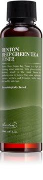 Benton Deep Green Tea vlažilni tonik za obraz z zelenim čajem