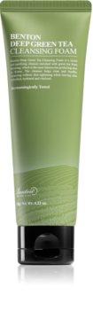 Benton Deep Green Tea espuma limpiadora hidratante con té verde