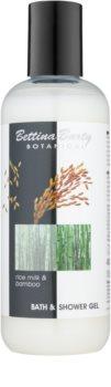 Bettina Barty Botanical Rice Milk & Bamboo sprchový a koupelový gel