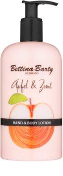 Bettina Barty Apple & Cinnamon leche para manos y cuerpo