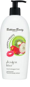 Bettina Barty Happy Fruits Kiwi & Dragon Fruit leche para manos y cuerpo