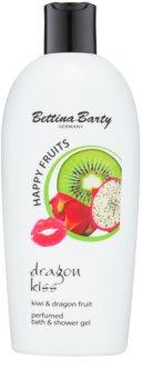 Bettina Barty Happy Fruits Kiwi & Dragon Fruit gel de ducha y baño