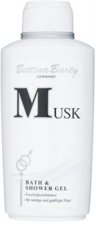 Bettina Barty Classic Musk gel de duche para mulheres