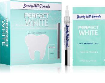 Beverly Hills Formula Perfect White sada pre bielenie zubov