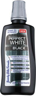 Beverly Hills Formula Perfect White Black Whitening Mounthwash with Activated Charcoal For Fresh Breath