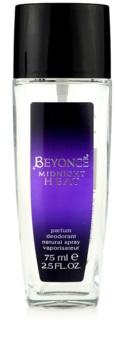 Beyoncé Midnight Heat deodorant s rozprašovačom pre ženy