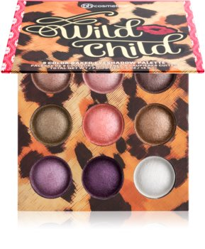 BH Cosmetics Wild Child paleta očních stínů se zrcátkem