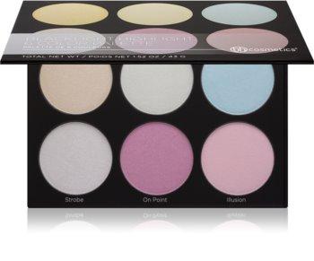 BH Cosmetics Blacklight Highlight paleta osvetljevalcev
