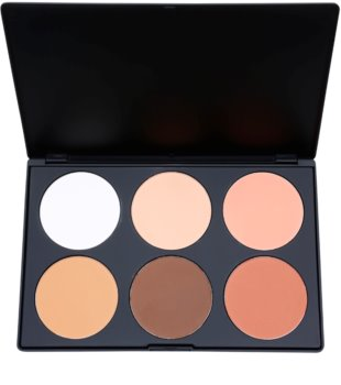 BH Cosmetics Contour & Blush paleta pentru contur facial