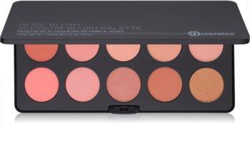 BH Cosmetics Nude Blush paleta de blushes