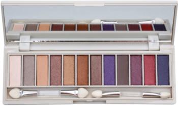 BH Cosmetics Enhancing paleta de sombras de ojos con un espejo pequeño