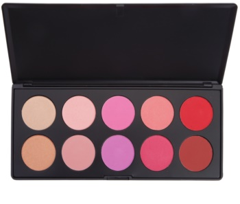 BH Cosmetics Glamorous paleta de coloretes
