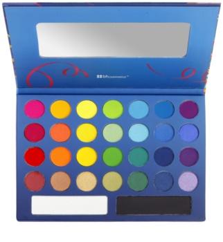 BH Cosmetics BHcosmetics Take Me To Brazil paleta očních stínů se zrcátkem