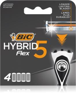 BIC FLEX5 lames de rechange 4 pièces