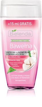 Bielenda Cotton 2-Phase Lash-Strengthening Eye Makeup Remover for Sensitive Eyes