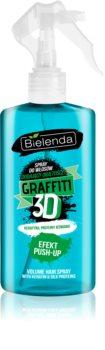 Bielenda Graffiti 3D Effect Push-Up spray styling para volume e brilho