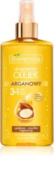 Bielenda Precious Oil  Argan olejek pielęgnacyjny do twarzy, ciała i włosów