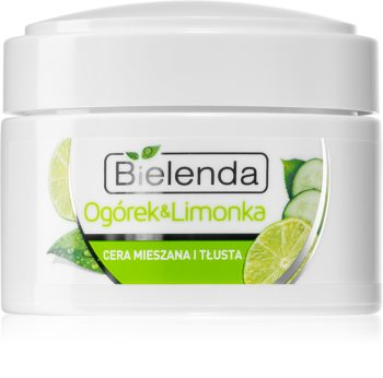 Bielenda Cucumber&Lime crema matifianta si hidratanta pentru ten gras și mixt