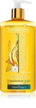 Bielenda Golden Oils Ultra Hydration óleo de banho e duche com efeito hidratante