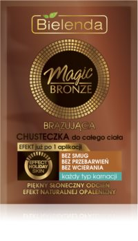 Bielenda Magic Bronze Selbstbräuner-Pads für alle Oberhauttypen