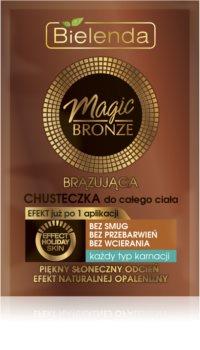 Bielenda Magic Bronze серветки для автозасмаги для всіх типів шкіри