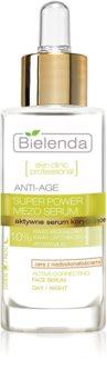 Bielenda Skin Clinic Professional Super Power Mezo Serum verjüngendes Anti-Aging Serum für Haut mit kleinen Makeln