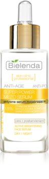 Bielenda Skin Clinic Professional Super Power Mezo Serum активна сироватка для сяючої шкіри