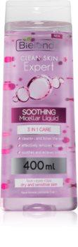 Bielenda Expert Pure Skin Soothing lozione micellare detergente 3 in 1