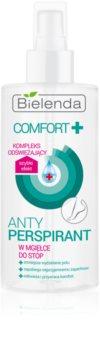 Bielenda Comfort+ antitranspirante em spray para pernas