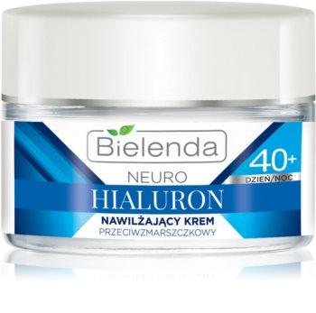 Bielenda Neuro Hyaluron концентриран хидратиращ крем с изглаждащ ефект